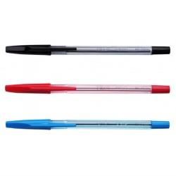 sfere pilot bp-s fine nero/rosso/blu pezzi 12 monocolore