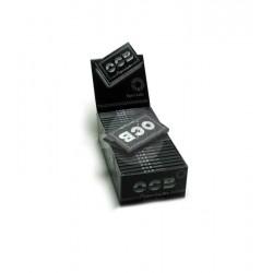 cartine ocb corte nere doppie pezzi 25