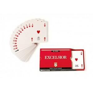 carte da gioco plastificate dal negro excelsior