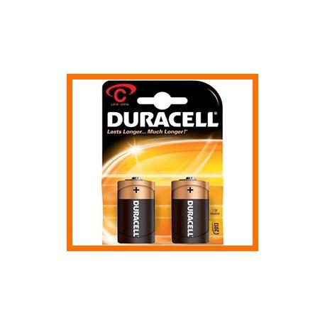 batterie duracell mezza torcia pezzi 10 per 2