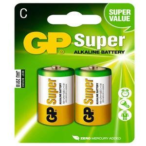 batterie gp alcalina mezza torcia pezzi 10 per 2