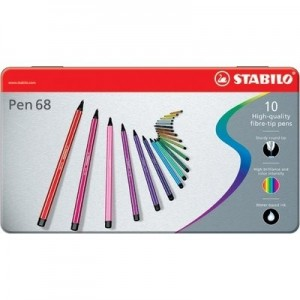 pennarelli stabilo pen 68 pezzi 10