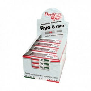 microbocchini david ross 6mm slim pezzi 24
