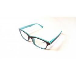 occhiali da lettura finitura lucida bicolore navigare