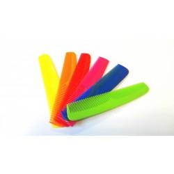pettine famiglia colorato denti radi fitti blucart