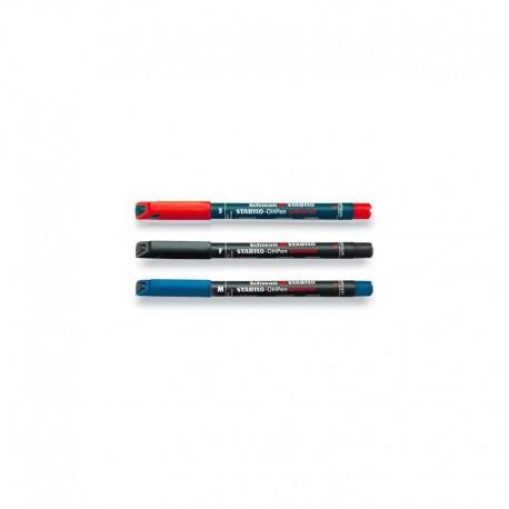 pennarelli stabilo ohpen permanent punta s/f/m n/r/b