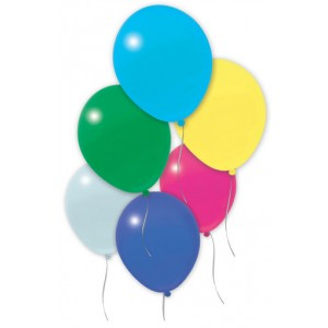 palloncini multicolor large festa pegaso