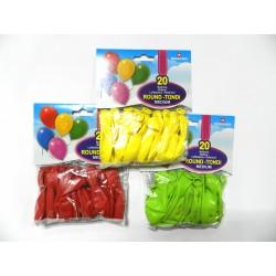 palloncini monocolore pegaso festa party compleanno colorati blucart