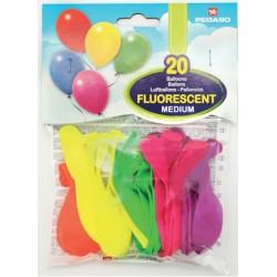 palloncini fluorescenti pegaso feste compleanni party sorpresa blucart