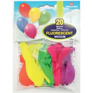 palloncini fluorescenti pegaso