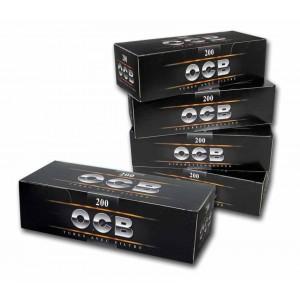 tubi sigarette con filtro ocb 200 tubi confezione da 5 vendite
