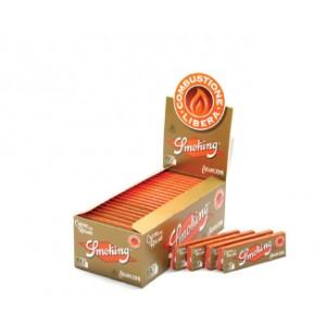 cartine smoking arancione corta pezzi 50