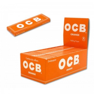 cartine ocb orange corta pezzi 50