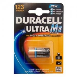 batterie duracell 123 pezzi 10