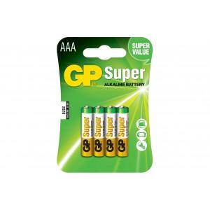 batterie gp alcalina mini stilo pezzi 10 per 4