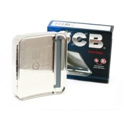 macchinetta porta tabacco in metallo ocb