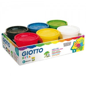 colori a dito giotto fila pezzi 6 ml100