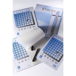 blocco carta lucida 21x29.7 cm per disegno