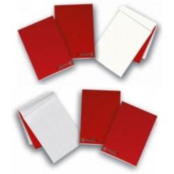 blocco master A4 90 fogli a quadretti da 1 cm o bianco (5 blocchi)