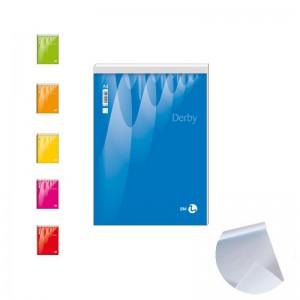 blocco notes 15x21cm bianco/rigato