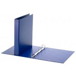 Raccoglitore Ad Anelli 22x33 Cm Blu cartelle anelli