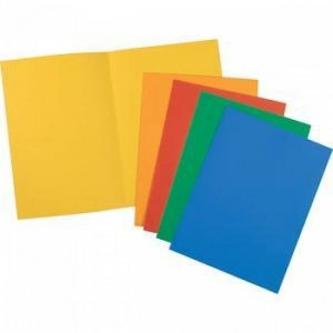 cartelle bristol semplici pezzi 50 assortite