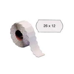 etichette prezzatrice 26/12 removibile bianche